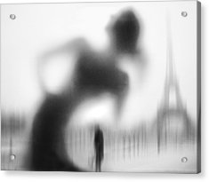 La Parisienne Acrylic Print by Eric Drigny