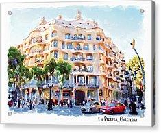 La Pedrera Barcelona Acrylic Print