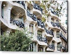 La Pedrera Casa Mila Gaudi  Acrylic Print