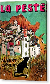 La Peste  Albert Camus Poster Acrylic Print