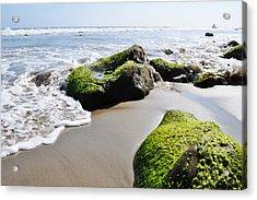 La Piedra Shore Malibu Acrylic Print by Kyle Hanson