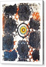 La Pleureuse  Acrylic Print by Howard Goldberg