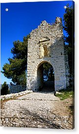 La Poterne In Allauch Acrylic Print by Olivier Le Queinec