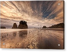 La Push Sunset Acrylic Print