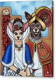 La Reina Y Devargas Acrylic Print