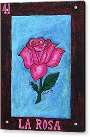 La Rosa Acrylic Print