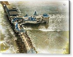Acrylic Print featuring the photograph La Rosa Nautica - Peru by Mary Machare