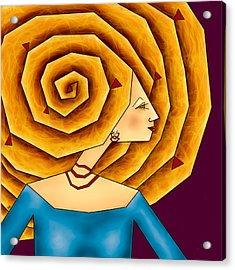 La Ruche Acrylic Print