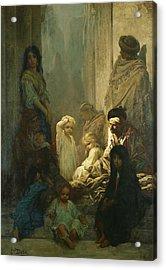 La Siesta, Memory Of Spain Acrylic Print by Gustave Dore