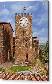 La Torre Del Carmine-montecatini Terme-tuscany Acrylic Print