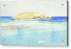 La Tortue, St Barthelemy, 1996 100x60 Cm Acrylic Print