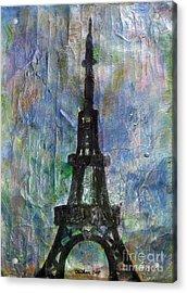 La Tour Eiffel By Taikan Acrylic Print