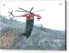 La Tuna Fire 64 Acrylic Print