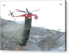 La Tuna Fire 65 Acrylic Print