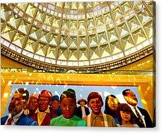 La Union Station Mural Acrylic Print