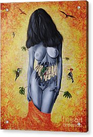 La Verdad Desnuda Acrylic Print