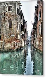 La Veste Venice Acrylic Print by Marion Galt