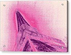 La Vie En Rose Acrylic Print by Lucie