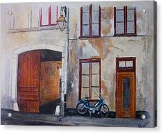 La Vieille Maison Acrylic Print by Victoria Heryet