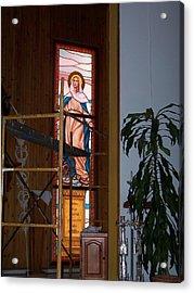 La Virgen Milagrosa Acrylic Print