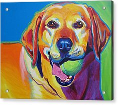 Lab - Bud Acrylic Print by Alicia VanNoy Call