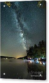 Labor Day Milky Way In Vacationland Acrylic Print