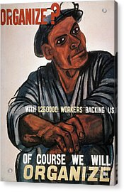 Labor: Poster, 1930s Acrylic Print by Granger