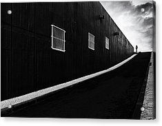 Labyrinth Of Air Acrylic Print by Paulo Abrantes