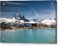 Lac Blanc Acrylic Print