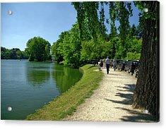 Lac De Genval Acrylic Print