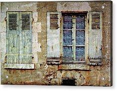 Lace Window Acrylic Print