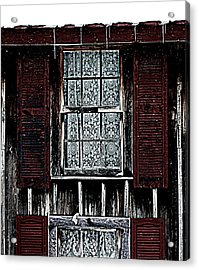 Laced Window Acrylic Print