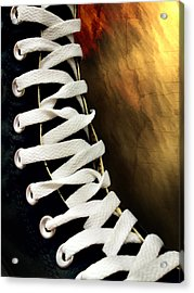 Laces Acrylic Print by Robert Smith