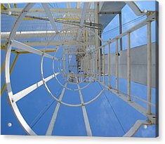Acrylic Print featuring the photograph Ladder by Dylan Punke