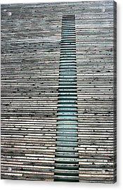 Acrylic Print featuring the photograph Ladder To Zen by David Dunham