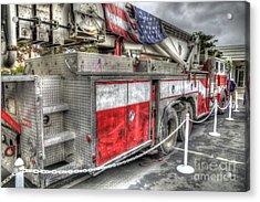 Ladder Truck 152 - 9-11 Memorial Acrylic Print