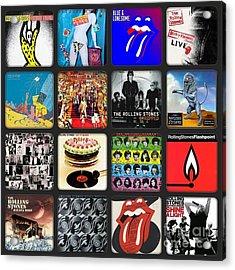 Ladies And Gentlmen The Rolling Stones Acrylic Print