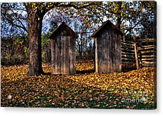 Ladies And Gents Acrylic Print by Elaine Manley