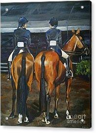 Ladies At Sussex Hunt Night Acrylic Print