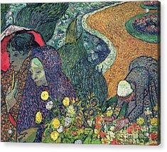Ladies Of Arles Acrylic Print by Vincent Van Gogh