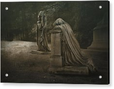 Ladies Of Eternal Sorrow Acrylic Print by Tom Mc Nemar