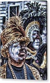 Ladies Of Zulu 2008 Acrylic Print by Jerome Holmes