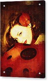 Lady Bug Acrylic Print by Holly Ethan