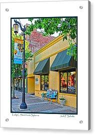 Lady C Storefront-sylvania Acrylic Print
