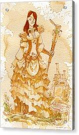 Lady Codex Acrylic Print