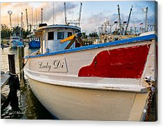 Lady Di Acrylic Print by Christopher Holmes