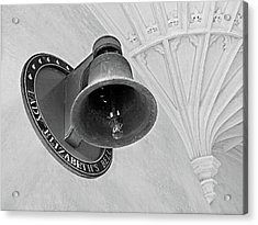 Acrylic Print featuring the photograph Lady Elizabeth's Bell Clare College Cambridge by Gill Billington