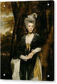 Lady Frances Finch Acrylic Print