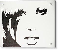 Lady Gaga 2 Acrylic Print by Kenneth Regan