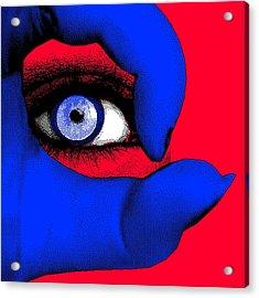 Lady Gaga Acrylic Print by Daniel House
